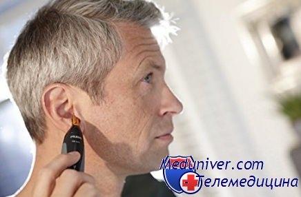 Волосы у мужчин на ушах